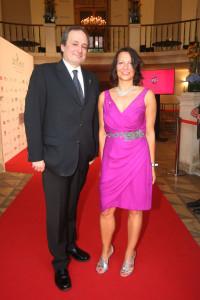 Beatrice Cox-Riesenfelder und Franz Patay