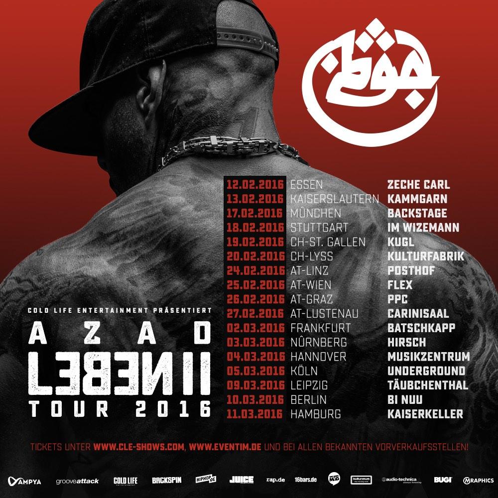 AZAD Tourflyer