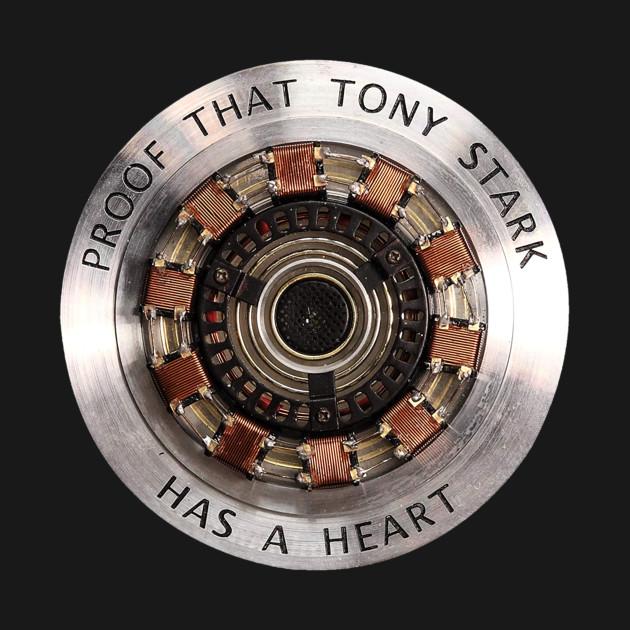 heart Tony Stark