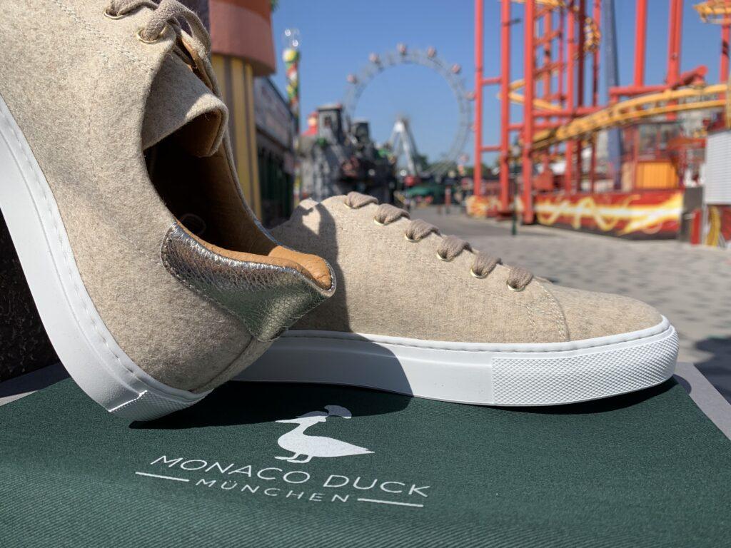 Sneaker Charlie Sand-Gold
